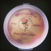 Healing Jennie Solid Lotion Bar